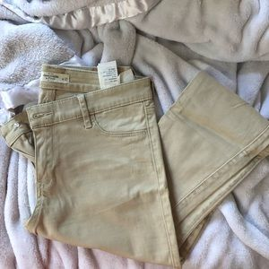 Abercrombie and Fitch skinny khakis